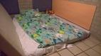 Een bed op de grond in Weerterbergen